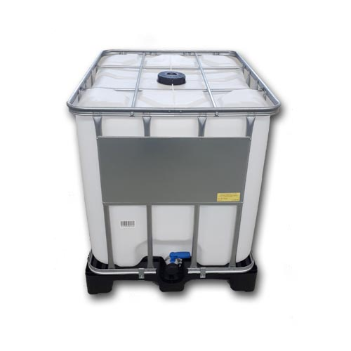 Water tank 1000l on plastic pallet