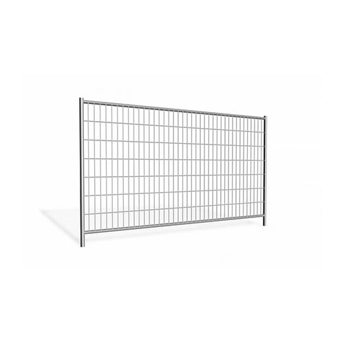 Mobile fencing panel 3.45m galvanized 10,9kg