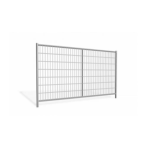 Mobile fencing panel 3.45m galvanized 18,4kg