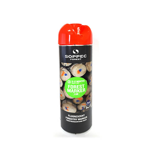 SOPPEC FOREST Marker tree marking spray 500ml, red