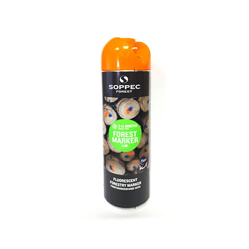 SOPPEC FOREST Marker tree marking spray 500ml, orange