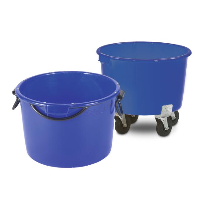 90 litru javas un būvmateriālu transportēšanas konteiners ar metāla rāmi