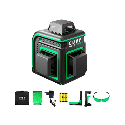 Laser level ADA CUBE 3-360 HOME EDITION (green beam)