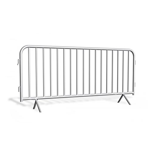 Metal barrier galvanized 2,3 m