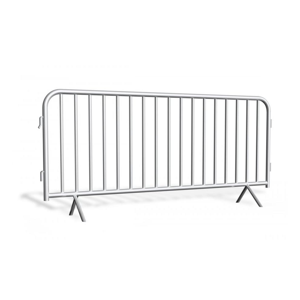 Metal barrier galvanized 2,5 m
