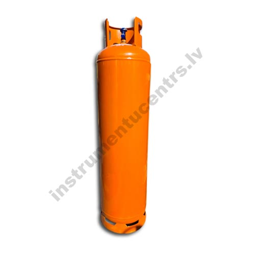 Propāna gāzes balons 33kg/79 litri, kreisā vītne 21,82 mm