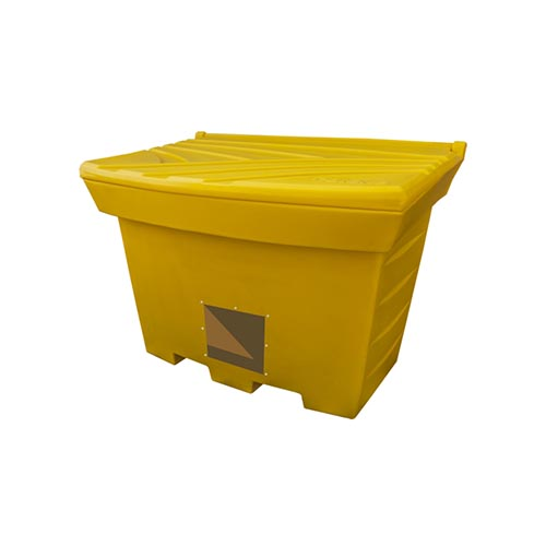 400 litre Grit Bins with opening for spade