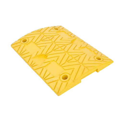 Rubber Speed Bumps (yellow) 500x400x50 mm