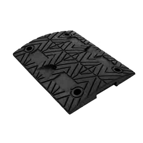Rubber Speed Bumps (black) 500x400x50 mm