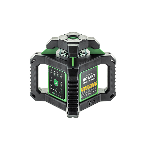 Rotējošais lāzera nivelieris ROTARY 500 HV NEW zaļš stars