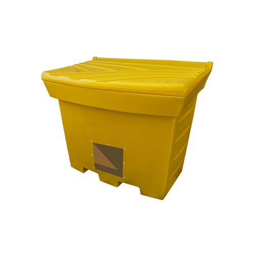 500 litre Grit Bins with opening for spade