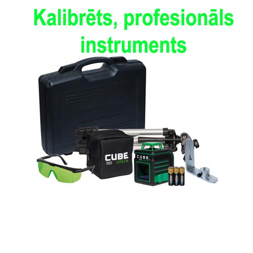Лазерный нивелир ADA CUBE 360 ULTIMATE EDITION (зеленный луч)
