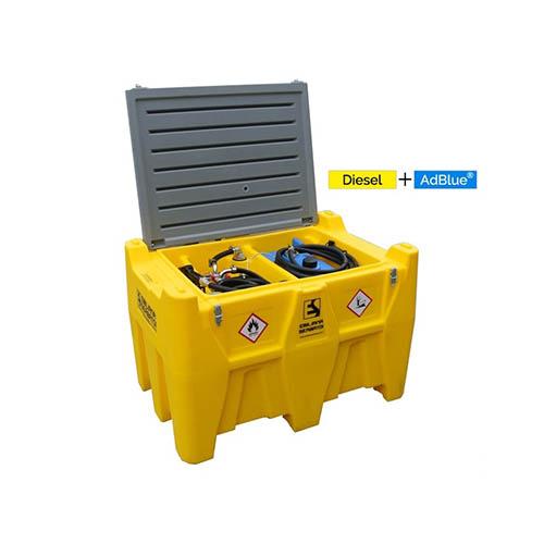Mobilā dīzeļdegvielas tvertne Carrytank 400+50 litri Adblue
