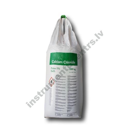 Kalcija hlorīds 77% (CaCl) ledus atkausētājs 1000 kg BIG BAG