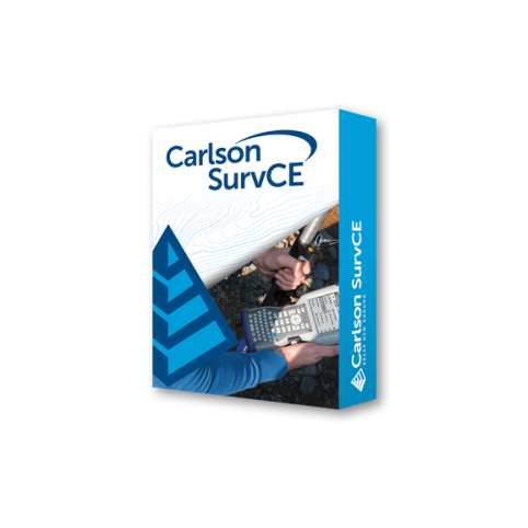 Carlson SurvCE for GPS