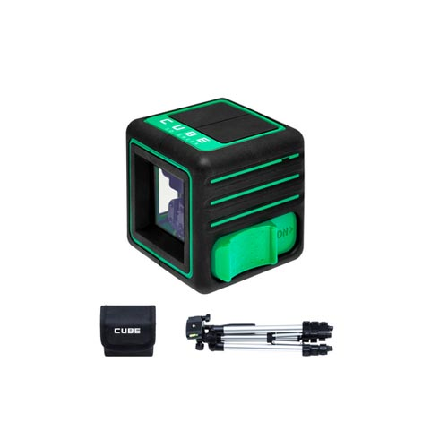 Cross line laser ADA CUBE 3D GREEN Professional Edition