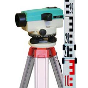 Optiskā niveliera komplekta noma