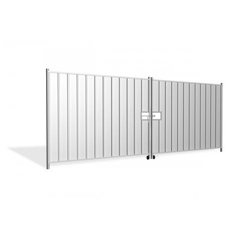 Hording Vehicle Gate 4.6m (2x2.3m), galvanized 65.4kg
