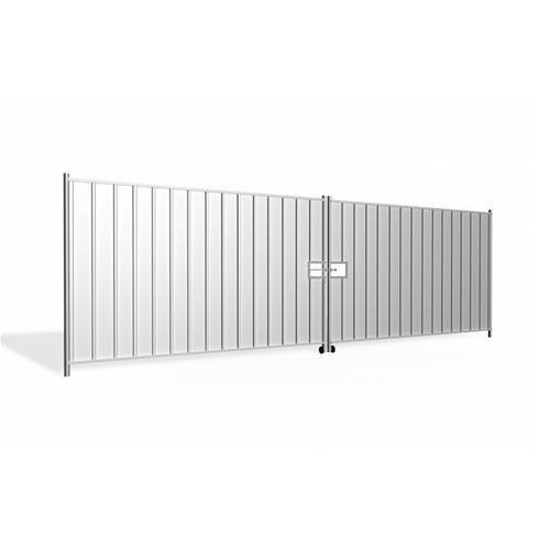 Hording Vehicle Gate 5.8m (2x2.9m), galvanized 77.3kg