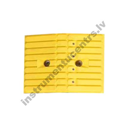 Rubber Speed Bumps (yellow) 355x260x55 mm