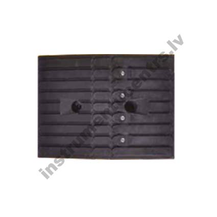 Rubber Speed Bumps (black) 355x260x55 mm