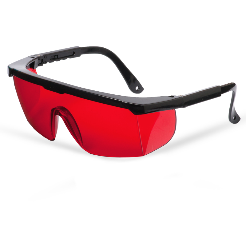 Laser glasses, red