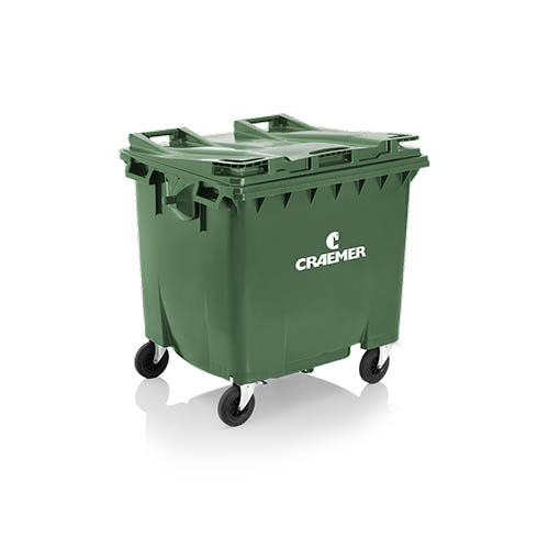 Atkritumu konteiners 660L