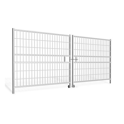 Hording Vehicle Gate 4.4m (2x2.2m), galvanized 30.7kg