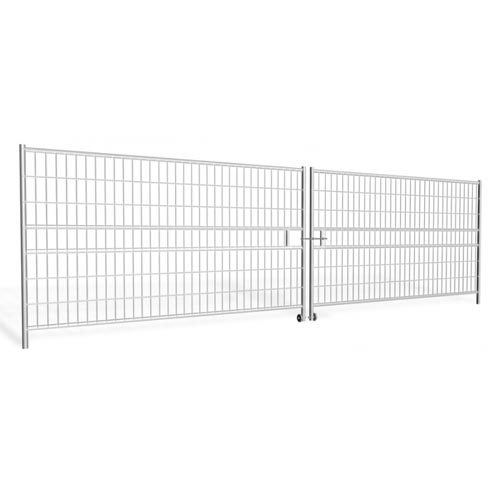 Hording Vehicle Gate 7m (2x3.5m), galvanized 42kg