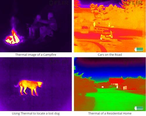 FLIR Scout TK thermal vision monocular | Instrumentucentrs lv