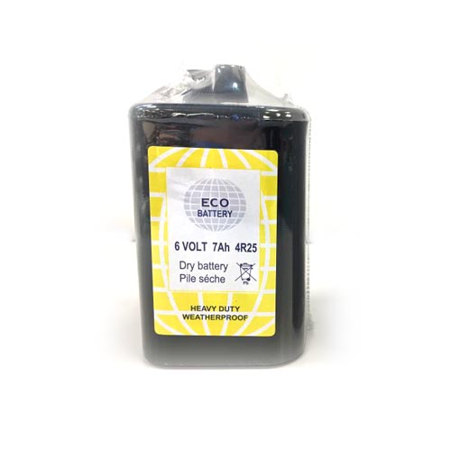 ECO battery 6V - 7 Ah