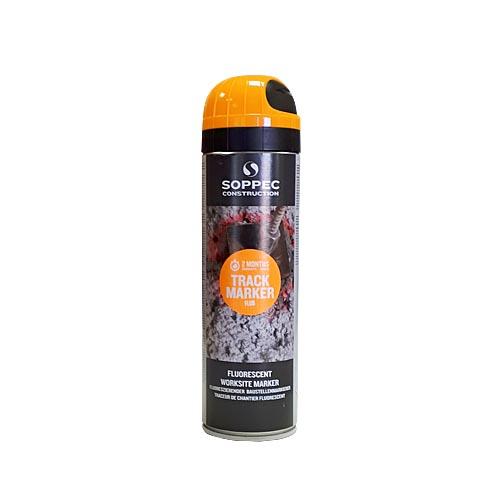 SOPPEC Track Marker luminiscējoša krāsa marķēšanai 500ml, oranža