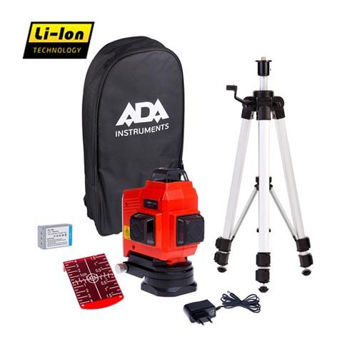 Lāzera nivelieris ADA TOPLINER 3x360 SET