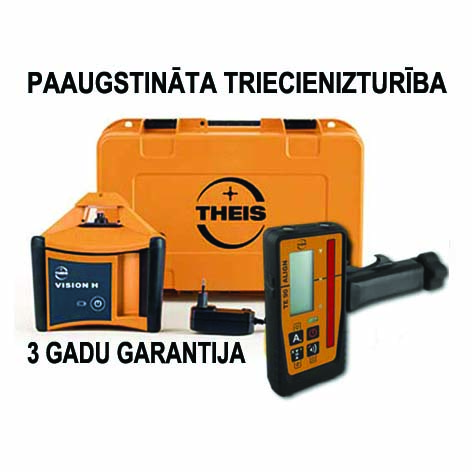 Automatic laser THEIS VISION H TE90 mm display