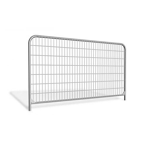Mobile fencing panel 3.45m galvanized 15,2kg