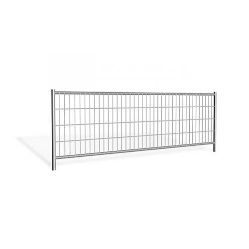 Mobile fencing panel 3.45m galvanized 11,7kg