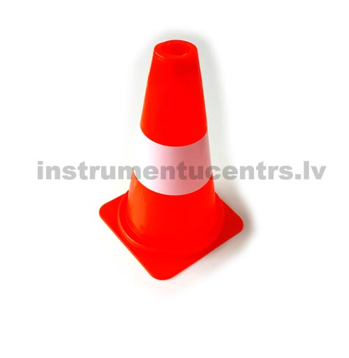 Cone 300mm, PVC, one white band