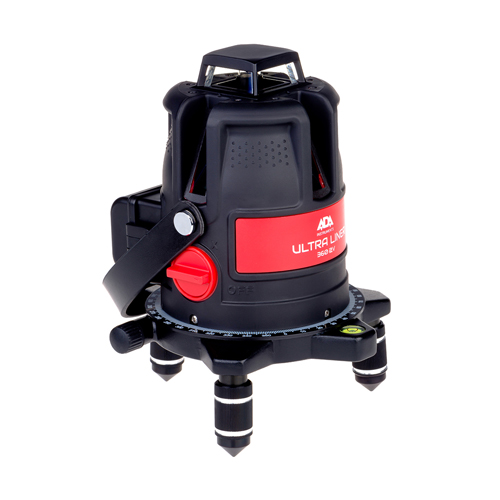 Lāzera nivelieris ADA ULTRALiner 360 4V