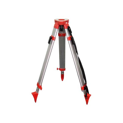 Doubled fixation medium aluminium universal tripod
