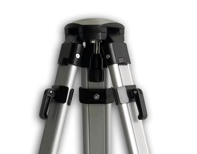 Medium aluminium domehead tripod